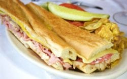 Cuban sandwich - credit Columbia Restaurant Group