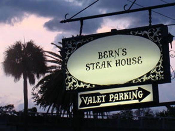 Tampa's Iconic Restaurant:  Bern's Steak House
