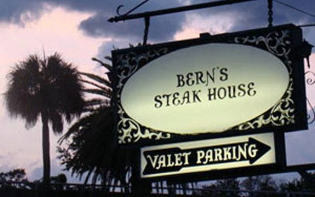 berns steak house iconic sign